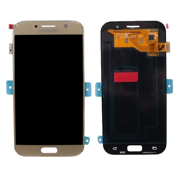 ΓΝΗΣΙΑ ΟΘΟΝΗ LCD ΜΕ TOUCH SCREEN ΓΙΑ SAMSUNG GALAXY A5 2017 A520F - ΧΡΥΣΟ