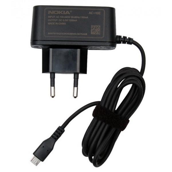 ΓΝΗΣΙΟΣ ΦΟΡΤΙΣΤΗΣ NOKIA MICRO USB AC-10E 1.2A