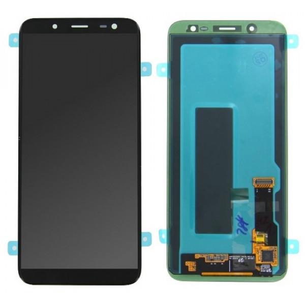 ΓΝΗΣΙΑ ΟΘΟΝΗ LCD ΜΕ TOUCH SCREEN ΓΙΑ SAMSUNG GALAXY J6 2018 J600F - ΜΑΥΡΟ