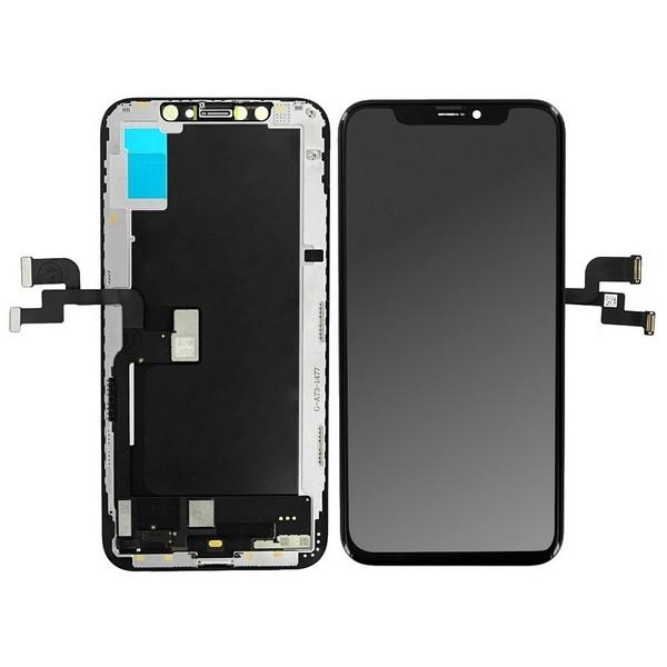 ΟΘΟΝΗ OLED (SUPER AMOLED) ΚΑΙ DIGITIZER ΓΙΑ IPHONE XS ΥΨΗΛΗΣ ΠΟΙΟΤΗΤΑΣ - ΜΑΥΡΟ