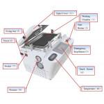 """5 ΣΕ 1 LCD VACUUM OCA MACHINE 12"""" LCD SCREEN REPAIR MACHINE BEST BST-AK"""