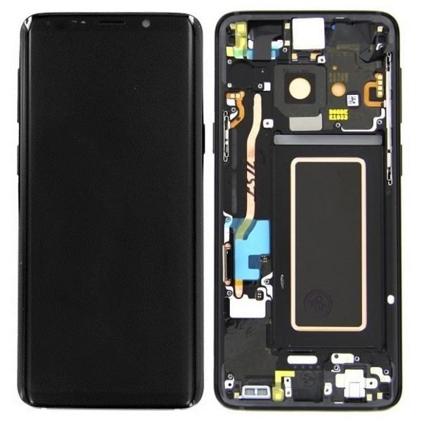 ΓΝΗΣΙΑ ΟΘΟΝΗ LCD ΜΕ TOUCH SCREEN ΓΙΑ SAMSUNG GALAXY S9 PLUS G965F - ΜΑΥΡΟ
