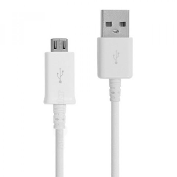 ΚΑΛΩΔΙΟ ΦΟΡΤΙΣΗΣ & ΔΕΔΟΜΕΝΩΝ MICRO USB 1M - ΛΕΥΚΟ