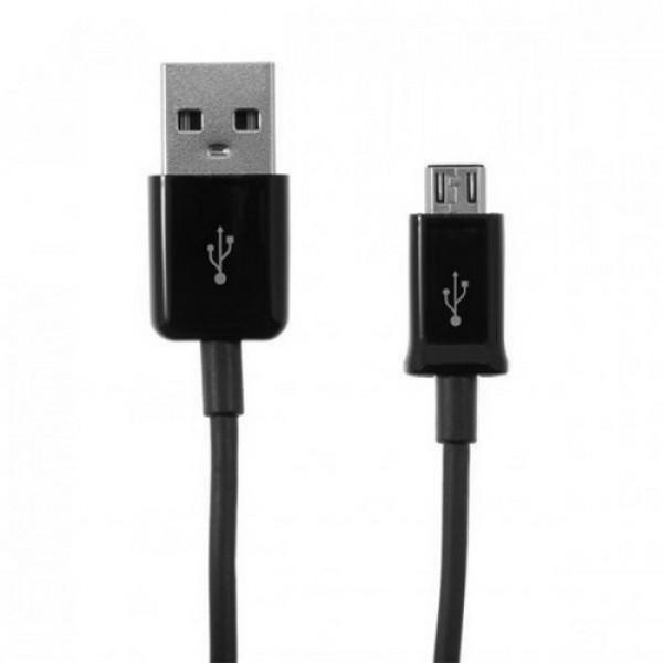ΚΑΛΩΔΙΟ ΦΟΡΤΙΣΗΣ & ΔΕΔΟΜΕΝΩΝ MICRO USB 1M - ΜΑΥΡΟ