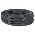 POWERTECH καλώδιο SF/UTP Cat 6e CAB-N157, CCA 24AWG 0.5mm, 305m, μαύρο
