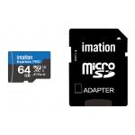 IMATION κάρτα μνήμης MicroSDXC UHS-3, 64GB, R90MB/s, Class 10
