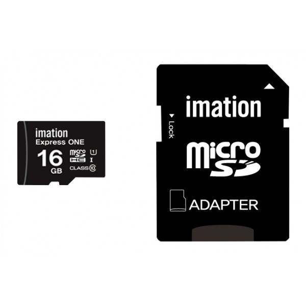 IMATION κάρτα μνήμης MicroSDHC UHS-1, 16GB, R45MB/s, Class 10
