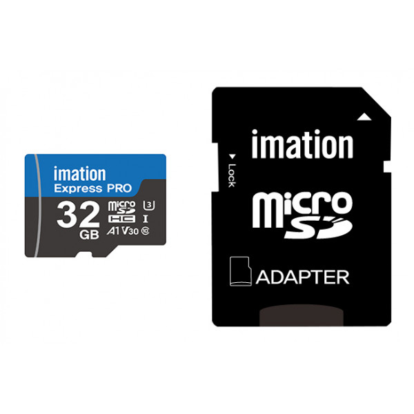 IMATION κάρτα μνήμης MicroSDHC UHS-3, 32GB, R90MB/s, Class 10