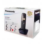 PANASONIC ασύρματο τηλέφωνο KX-TG1611GRC, ελληνικό μενού, άσπρο-πράσινο