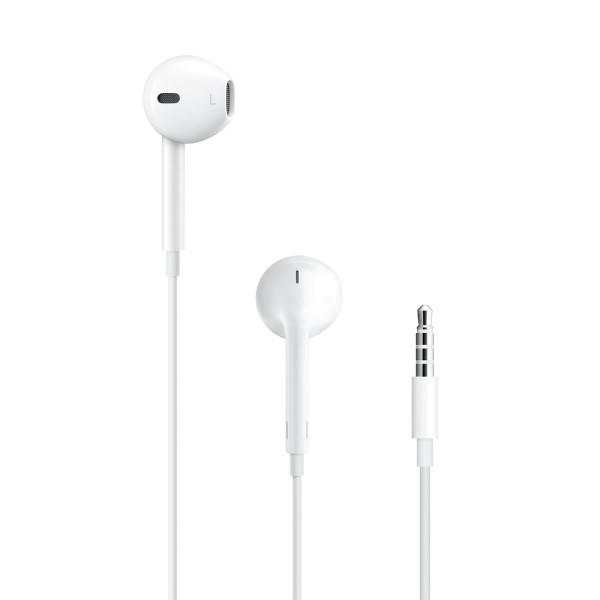 APPLE EarPods MNHF2ZM-A (A1472), 3.5mm, λευκά