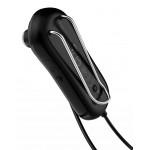 BASEUS bluetooth earphones ENCOK Α06, με μαγνήτη και κλιπ, δόνηση, μαύρα