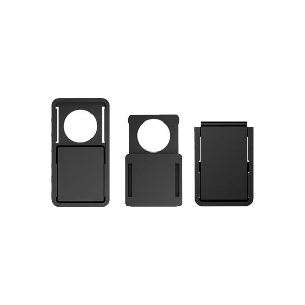 Κάλυμμα κάμερας SPPIP-002, 3 μεγέθη, μαύρο