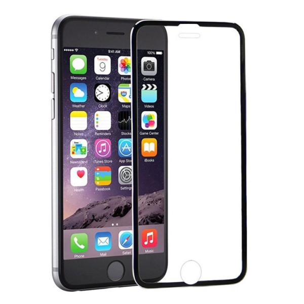 POWERTECH Tempered Glass 3D Full Face για iPhone 7/8, titanium, Black
