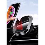 BASEUS ασύρματος φορτιστής και βάση αυτοκινήτου WXHW01-01, 10W, μαύρο